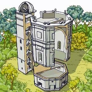 Observatorio Astronómico Nacional de Colombia dibujo