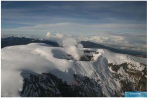 3 Crater Arenas - Ruiz Volcano