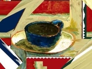 Un tinto para la tierra del café