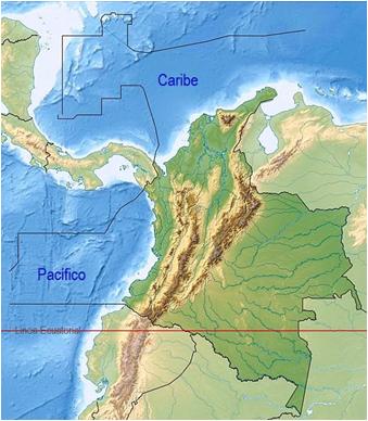 15 Colombia Fronteras y Órbita Geoestacionaria