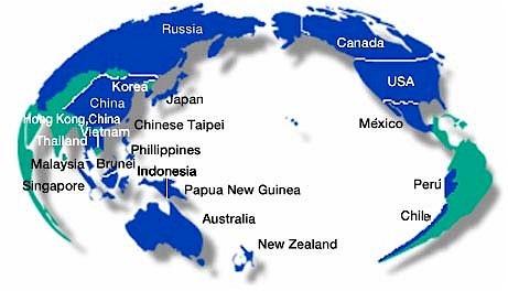 16 del Pacífico - worldmap