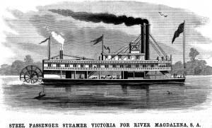 23  victoria vapor Magdalena river
