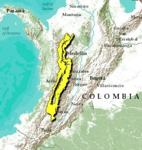 24 cauca-valley-montane-forests-map