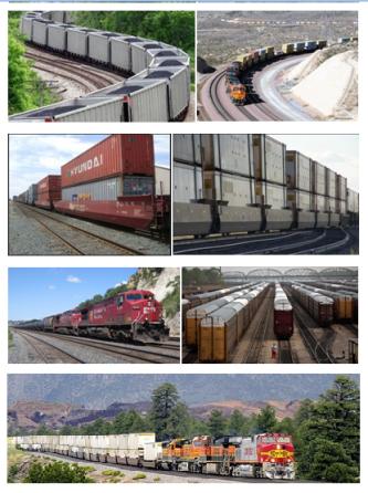 28 trenes ferrocaril