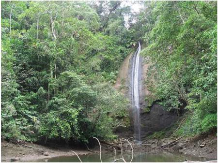 30 Las cascadas del Sierpe en Bahia Malaga, Colombia