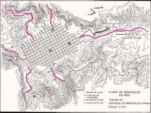 Mapas del Departamento de Caldas en Colombia