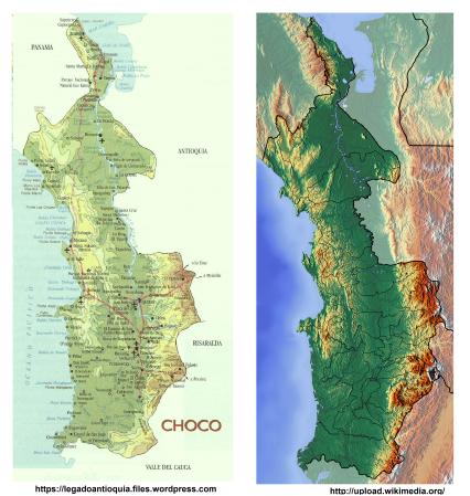 choco biogeografico pacifico colombia