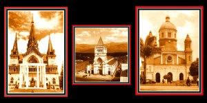 Catedrales de las capitales del eje cafetero