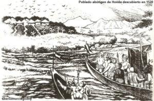 Poblado aborigen de Honda descubierto por Jiménez de Quezada, Sebastián de Belancazar y Nicolás de Federman en 1539