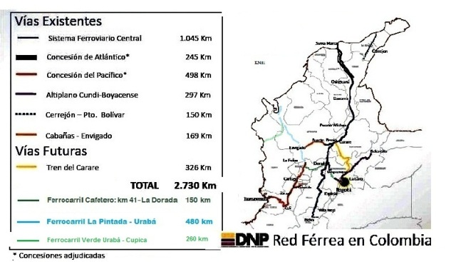 ferrocarriles colombia trenes