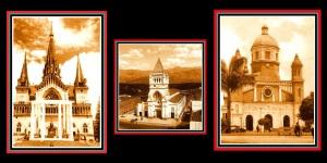 5 Catedrales de las capitales del eje cafetero