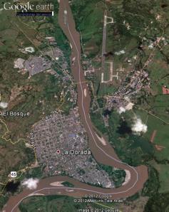 La Dorada - Imagen satelital