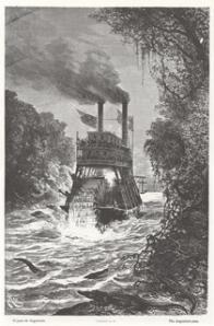 barco a vapor rio magdalena