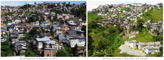 Barrios en Manizales