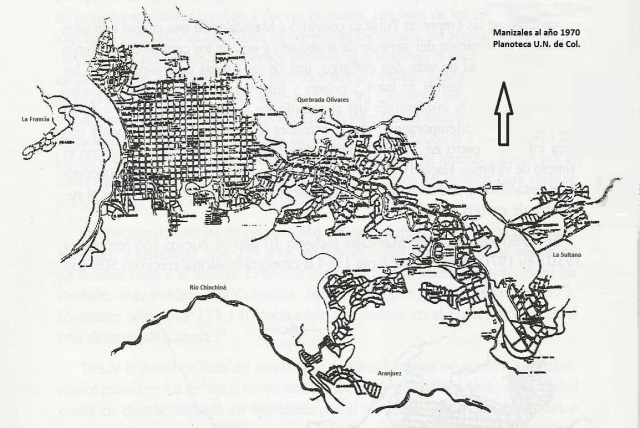Manizales 1970- Planoteca UN
