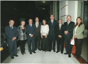 Medalla Alfonso Carvajal Escobar a Gonzalo Duque - Escobar y Escudo al Merito de la SCIA a la Constructora Echeverri & Giraldo S.A.