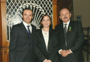 Medalla Alfonso Carvajal Escobar de la SCIA a Gonzalo Duque Escobar