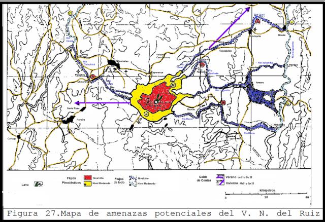 5 mapa amenazas volcan ruiz 1986