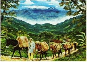 9 Los caminos del café - Obra de Luis Guillermo Vallejo