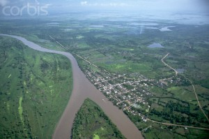 Aerial View of Magdalena River