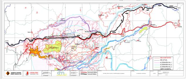 Ferrocarril Cafetero - Transversal Cafetera - Túnel Cumanday