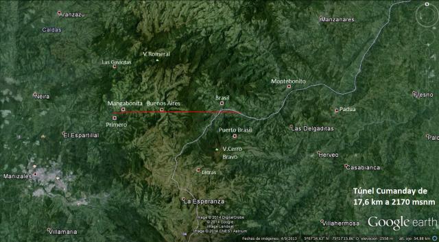 ima 3 - tunel cumanday a 2170 msnm