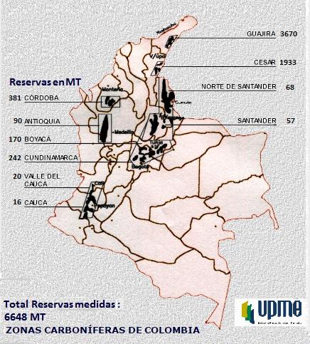 zonas carboniferas colombia