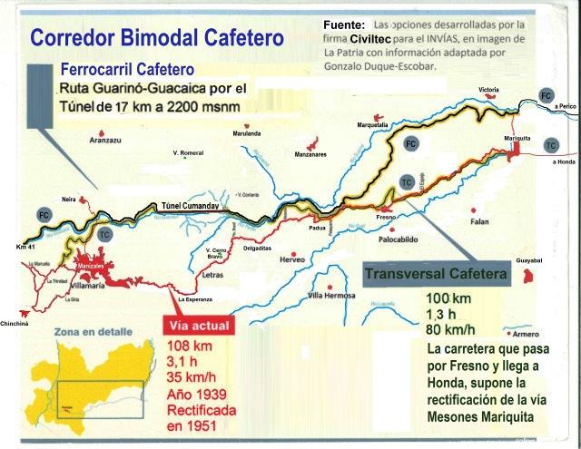 10 transversal-cafetera-ferrocarril-cafetero - Corredor Bimodal Cafetero
