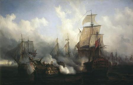 7a batalla de trafalgar
