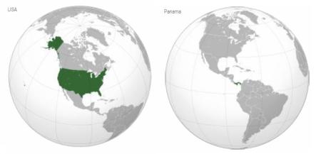 8 USA y Panama
