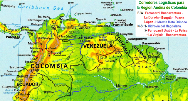 Corredores Logisticos Colombia