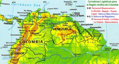 12 Corredores Logisticos Colombia