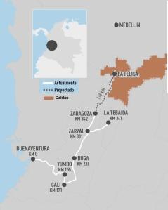 fdp colombia rail - Ferrocarril del Pacifico - Ferrocarril Cafetero
