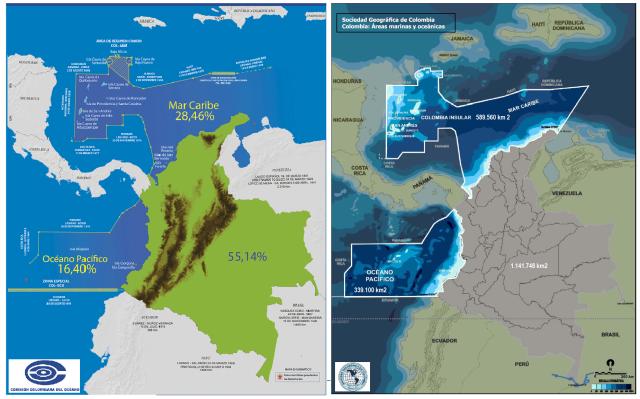 fronteras y mares de colombia 2015