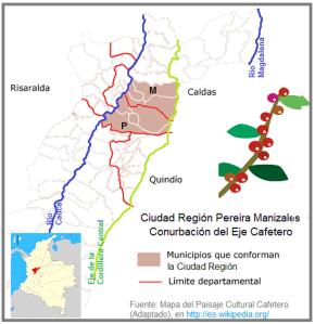 Ciudad Región Pereira Manizales  - Conurbación del Eje Cafetero