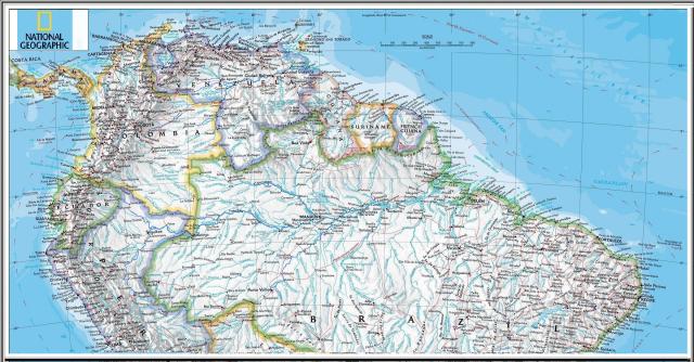 hidrovias amazonas orinoco