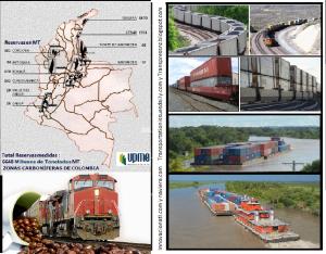 CARBON TRENES E HIDROVIAS EN COLOMBIA