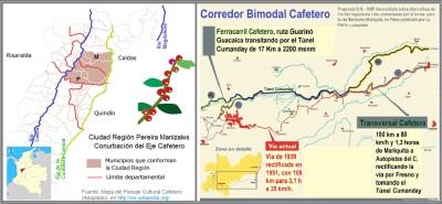 Ciudad Region Pereira Manizales - Corredor Bimodal Cafetero