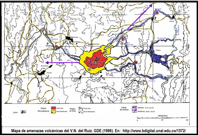 mapa-amenazas-volcan-ruiz-1986