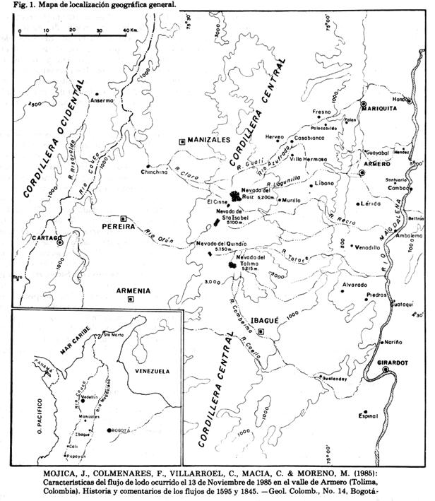 1- Mapa del Area del Complejo Ruiz Tolima y Magdalena Centro (2)