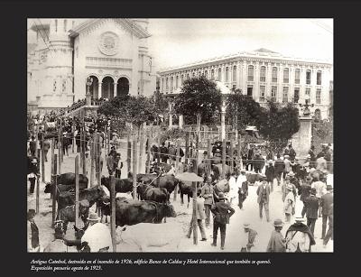 13 manizales ayer mercado o rituales en la plaza