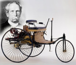 automovil de karl benz 1885