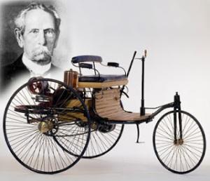 automovil de karl benz 1885