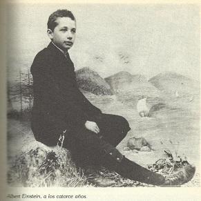 Einstein a los 14 años