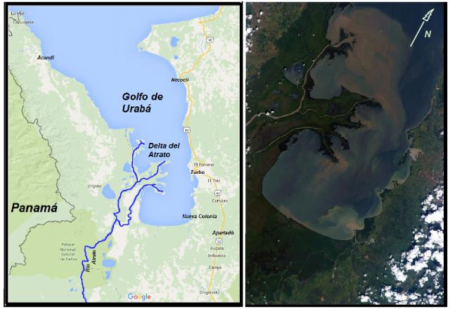 Golfo de Uraba y Delta del Atrato